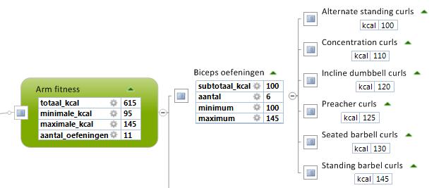 AutoCalc Meerdere properties